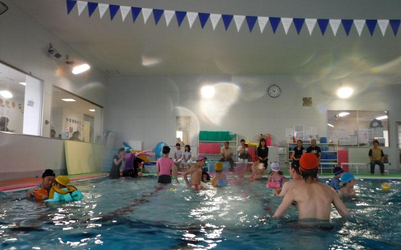 『楽しい水泳体験』を行いました!
