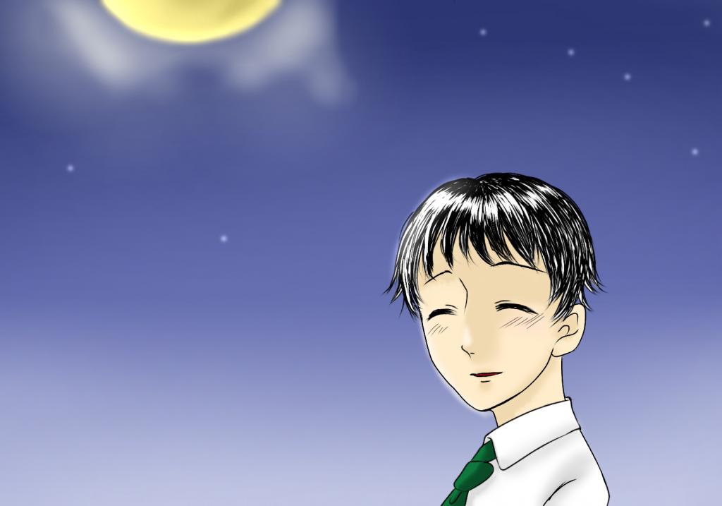 きみと夜空 (poem)