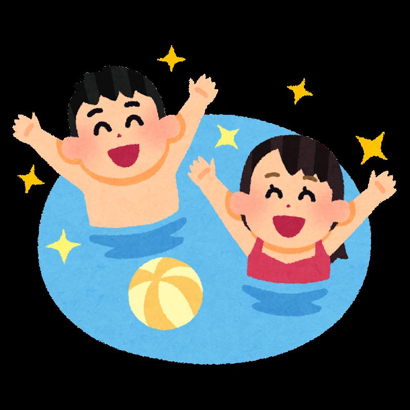 大人気!楽しい水泳教室10月20日開催!!